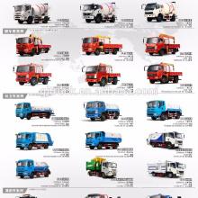 4 * 2 unidad Dayun beber agua camión / Dayun camión de agua / Dayun tanque de agua camión / Dayun carro de agua / Dayun riego camión / carro de agua