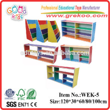 2014 new wooden bookshelf for kids,popular wooden kindergarten bookshelf ,hot sale kindergarten bookshelf