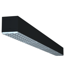 cubierta de lente de iluminación de oficina colgante