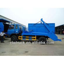Dongfeng 145 pular caminhão de lixo