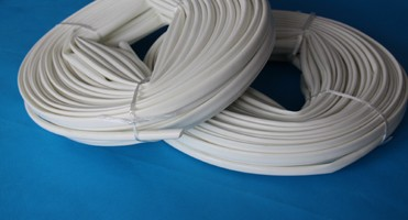 silicone glass fiber sleeve is packed with roll.