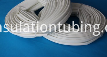 Silicone Glass Fiber Sleeve Is Packed With Roll