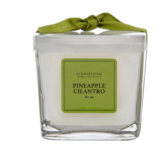 home decor hand poured soy wax scented candle in glass jar