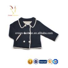 Modelos de Cardigan de crianças de Cashmere para camisolas de Cardigan de crianças pequenas