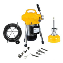 S75 electric portable electric drain cleaner for household use,250W