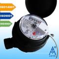 Compteur d'eau Jet unique Type sec Vane roue