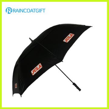 Kundenspezifischer Logo-Druck Gerader Regenschirm für Förderung