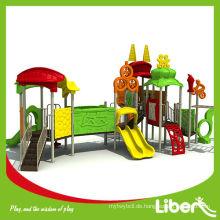 Outdoor Gebraucht Kinder Spielplatz Bauwerke zum Verkauf, Vergnügungspark Ausrüstung LE.TY.005