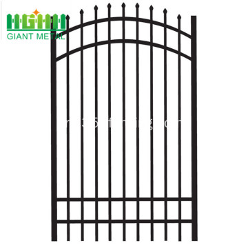 Powder+Coated+Zinc+Steel+Fence+for+price