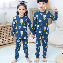Fancy New Print Fall Autumn Homesuit Girls Children′s Clothing 2021 Modern Wholesale Children′s Boutique Clothing