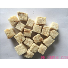 High Efficiency Factory for Freeze-dried Pet Snacks FD cat treats codfish cube export to Kuwait Exporter