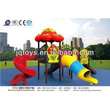 colorful mushroom playground set