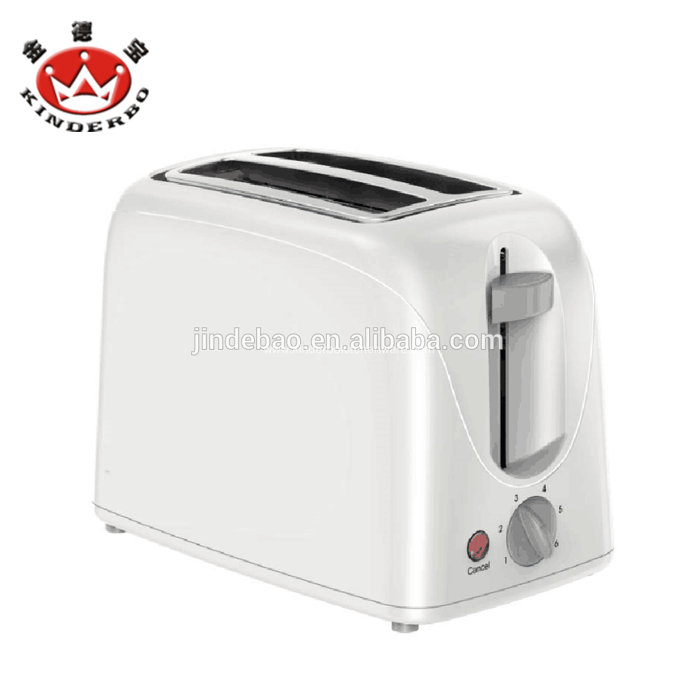 2 Slice Detachable Pop Up Bread Toaster