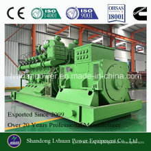 Высокая эффективность CUMMINS генератора 300kw биогаза комплект принимает биомассы болотного газа, СПГ