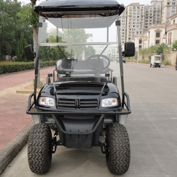 PP Material 6 Seater Electric Golf Cart