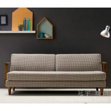 Couro 100% poliéster do tecido decorativo do sofá para a mobília