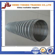 Filtro de gás usado Forma redonda Mine Sieving Wire Mesh