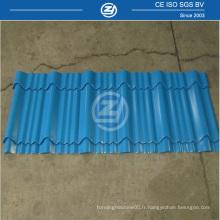 Feuille de toiture formant un rouleau à froid en acier ISO