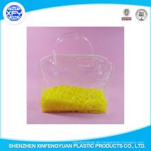 Großhandel Druck PVC-Reißverschluss öffnen Kunststoff-Tasche