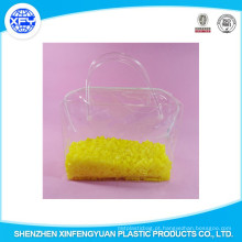 Atacado de impressão PVC Zipper abertura saco de plástico
