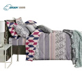 Poliéster Luxo King Size Home Linen Bedding Set
