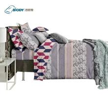 Poliéster Luxo King Size Home Linen Bedding Set