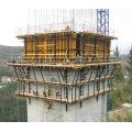 Автоматическая опалубка для подъема мостов из стали