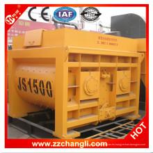 Mezclador de hormigón de doble eje Js1500 en venta