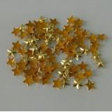 Gold 8.5mm Star Hot Fix Studs (CSR059)