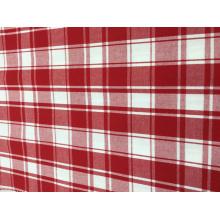 Tela teñida 100% del hilado del algodón para los diseños de Shirting del Mens Controles y rayas