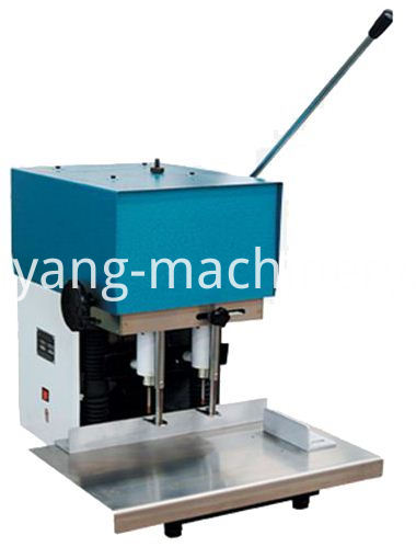 double head drilling machine