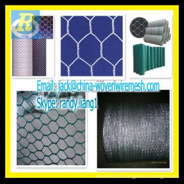 pvc & galvanized Hexagonal chicken mesh