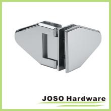 Charnière de douche autocollante en verre à verre de 90 degrés (Bh8004)