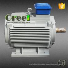 AC Brushless 3 fase 10kw 600rpm imán permanente generador síncrono