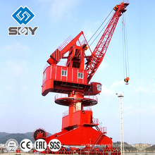 Low Price Single Jib Port Mobile Crane