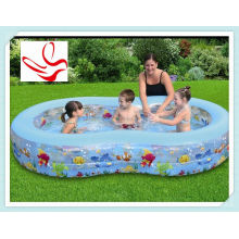 Large Cute Inflatable Swimming Pools 100 Gallons For 2 - 4 Children