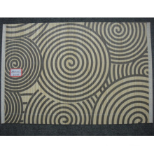 (BC-M1034) Handmade Natural Bamboo Rectangle Heat Insulation Placemat