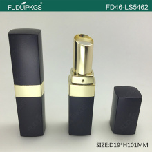 Custom lipstick tube with square shape