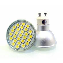 Dimmable GU10 27 5050 SMD LED Cup Lâmpada Lâmpada Spot Light