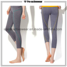 OEM 2016 Sexy Custom Made Cpmpetitive Price Tight Woman Capri Yoga Pants
