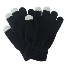 Men′s Fashion Acrylic Knitted Winter Touch Screen Magic Gloves (YKY5466)