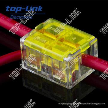 Conector de alambre eléctrico automotriz