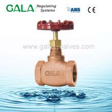 Válvula de alta presión de latón de latón