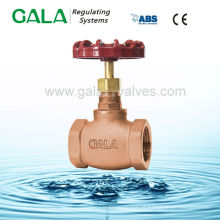 Válvula de retenção de latão de gás de alta pressão