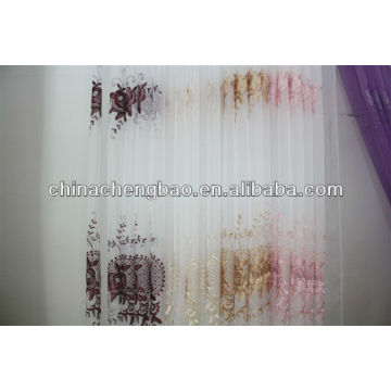 new european style sheer curtain fabric