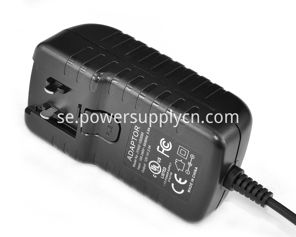 ITE 16V1A Interchangeable Plug Power Adapter