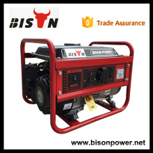 BISON CHINA TaiZhou 1.5kw marca de gasolina portátil HONDA 1.5kw generador eléctrico