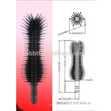 Silicone Slender curly type Highlight Brush Head