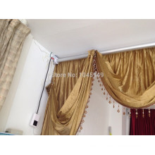single and double open electric motors for curtains