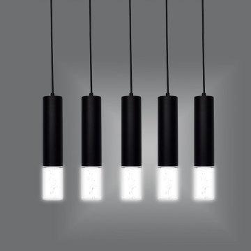 Lámpara de mesa de barra LED cilíndrica de tubo largo